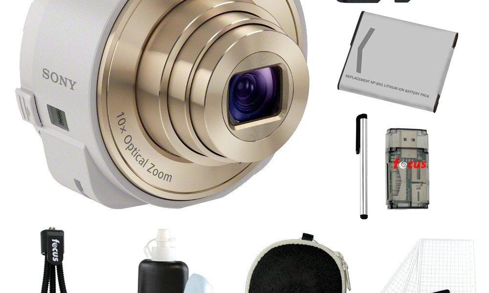 3 + 1 Essential Sony DSC-QX10 Accessories
