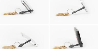 The Keyprop Portable Smartphone Stand