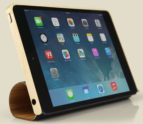 3 Awesome Wood Cases for iPad Air