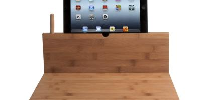 3 iPad Cutting Board Holders for the Kitchen