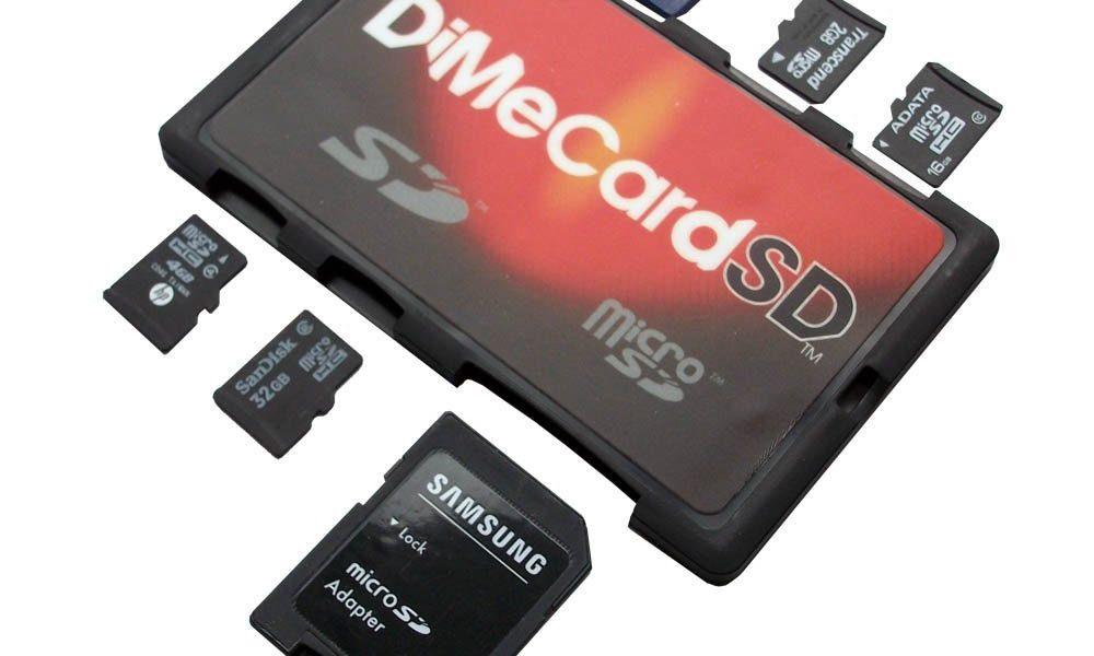 3 Handy SD Memory Card Holders