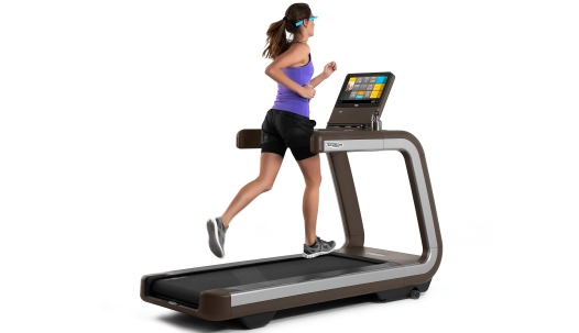Technogym Google Glass Treadmill