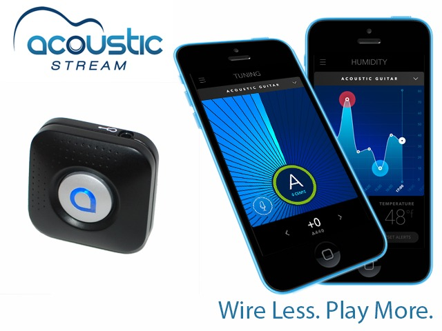 Acoustic Stream: Wireless Guitar Recorder, Streamer, …