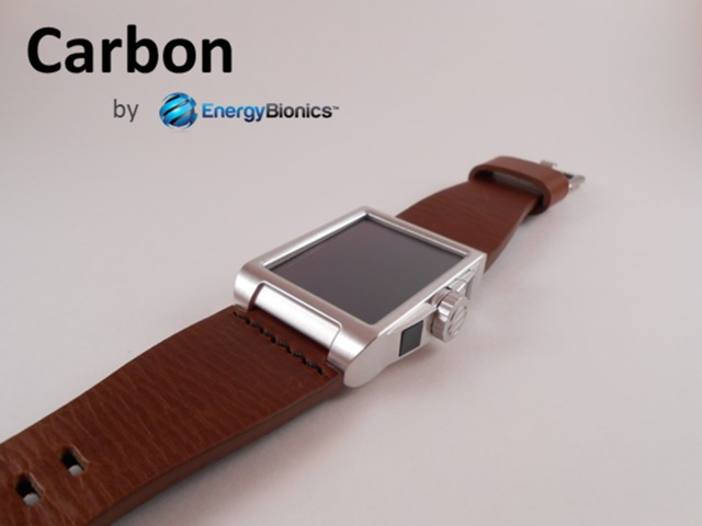Carbon Wearable Solar Charger for Glass, Smartphones, …