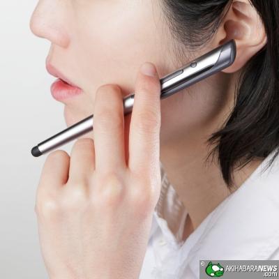 Elecom Stylus + Bluetooth headset (LBT-PHS02MPSV)