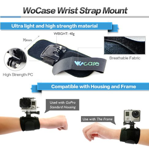 3 Hand Mounts for GoPro Cameras
