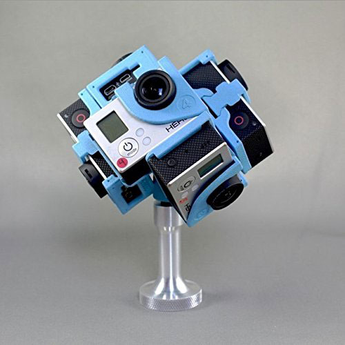 360Heros H3PRO6 Holds 6 GoPro Cameras