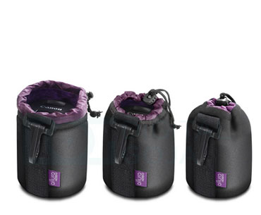 4 Protective Cases, Bags for DSLR Lenses