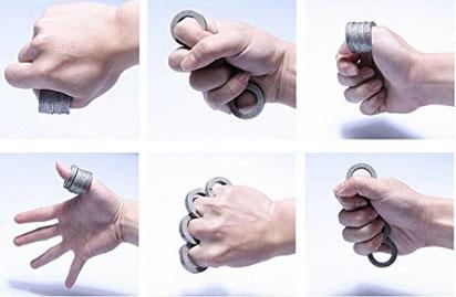 3 Self Defense Rings
