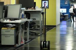 360 Camera Dolly Using Double Telepresence Robot