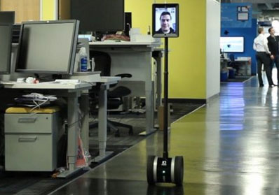 360 Camera Dolly Using Double Telepresence Robot