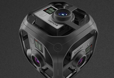 5 360-Degree VR GoPro Mounts