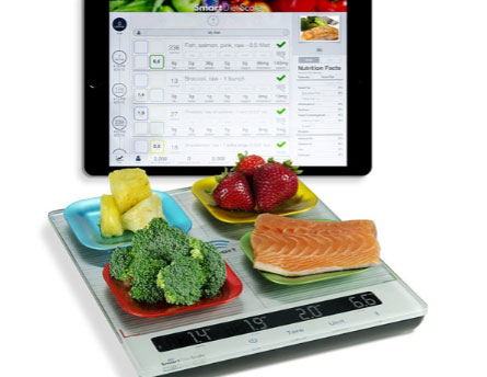 3 Smart App-enabled Diet Scales