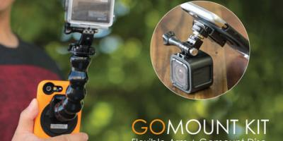 Ztylus GoMount Kit: Mount your GoPro To Your Phone