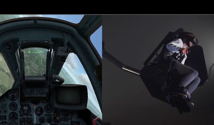 MMOne Interactive VR Simulator