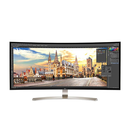 2 38-Inch Curved Monitors for Gaming, Programming