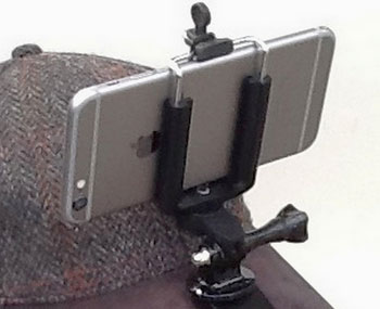 3 Smartphone, GoPro Caps