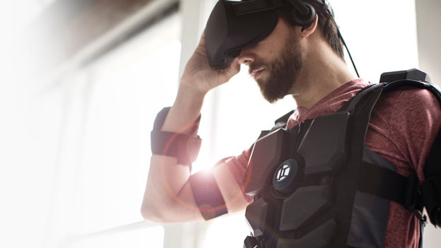 Hardlight VR Suit with Haptic Feedback