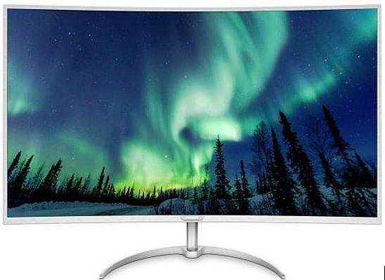 Philips 40-Inch Curved 4K LED Monitor