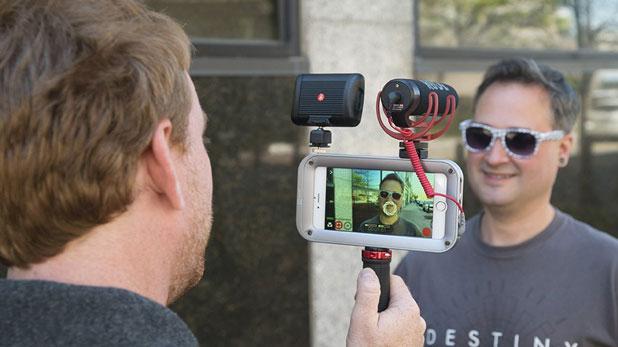 Helium Core iPhone Camera Rig