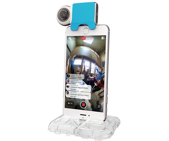 Giroptic iO 360-Degree Camera for iPhone & iPad