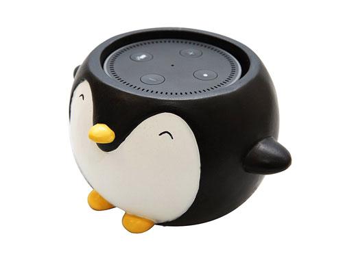Penguin Holder For Amazon Echo Dot