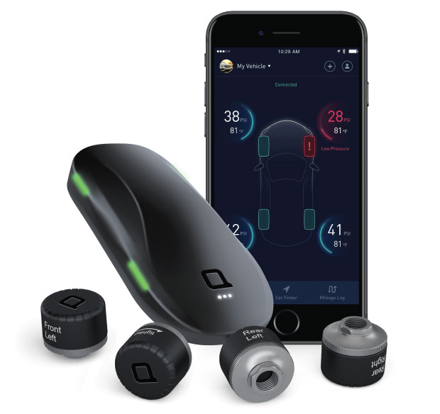 ZUS Bluetooth Smart Tire Safety Tracker