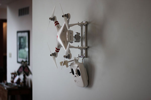 Droneup Wall Mount For Dji Phantom Accessories Lists