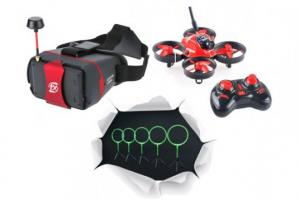 Aerix Nano FPV Indoor Drone Racing Kit