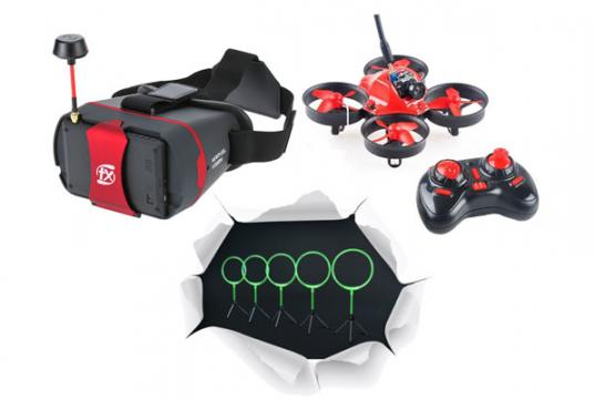 Aerix Nano FPV Indoor Drone Racing Kit