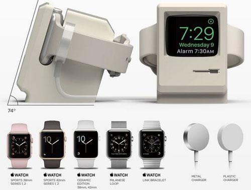 elago W3: Macintosh Apple Watch Stand