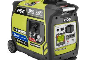Ryobi Bluetooth 2,300-Watt Quiet Gas Digital Inverter Generator