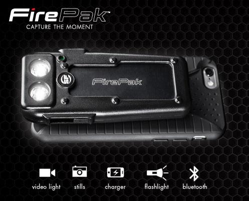 FirePak Smartphone Video Illuminator