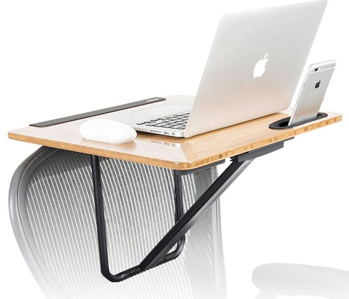Wuteku Portable Standing Chair Desk