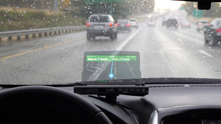 3 Car GPS Head-up Displays for Safe Driving
