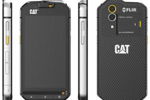 Caterpillar CAT-S60 Waterproof Phone with FLIR Camera