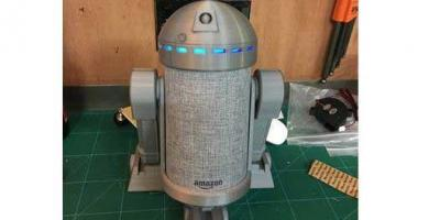 R2D2 Amazon Echo Dot Stand