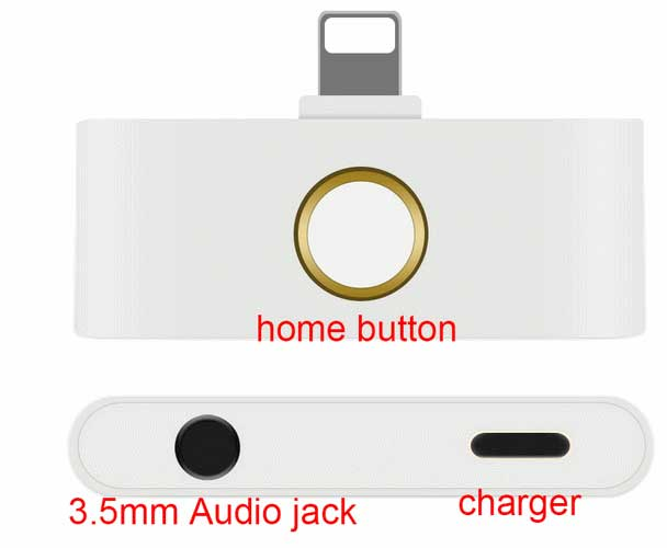 iPhone X Home Button & Audio Jack Adapter
