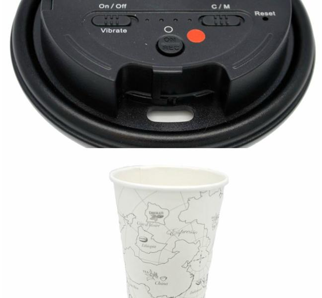 LawMate Coffee Cup Lid Spy Camera