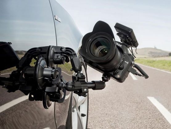 3 Car Suction Cup Mounts for Cameras