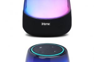 iHome iAV5 Color Changing Bluetooth Speaker for Echo Dot