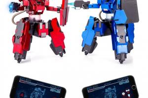 4 Smart Battle Bots with App Control