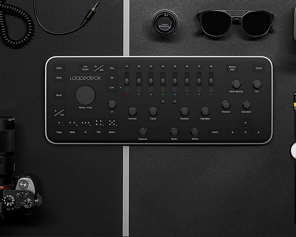 Loupedeck Photo Editing Lightroom Keyboard