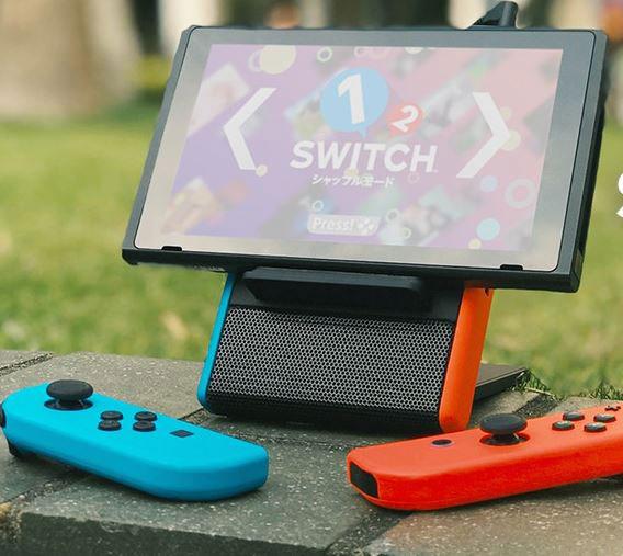 Switch Echo: Nintendo Switch Speaker Battery Stand