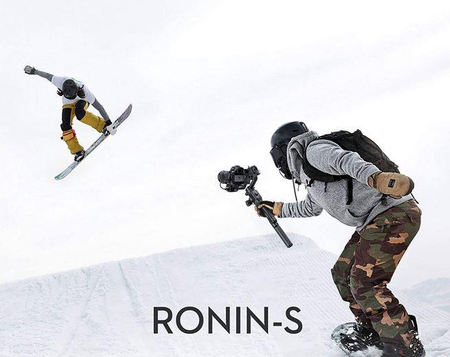 DJI Ronin-S Handheld 3-Axis Gimbal Stabilizer for DSLR/Mirrorless Cameras