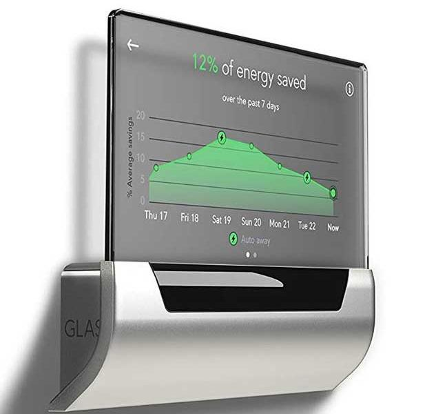 Glas: Touchscreen Thermostat with Cortana