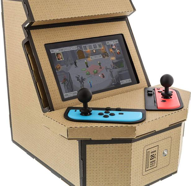 Pixelquest Acrade Kit for Nintendo Switch