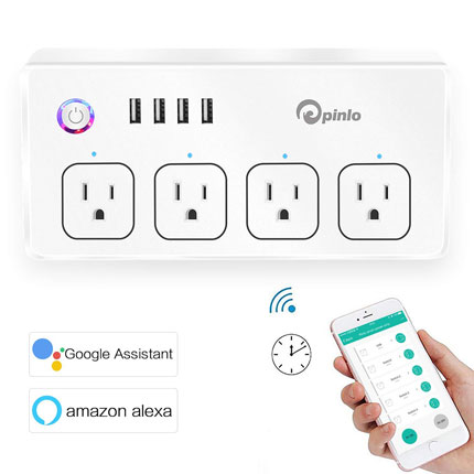 5 Smart Power Strips That Work with Alexa