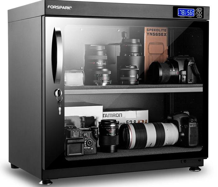 FORSPARK Dry Cabinet for Cameras & Lenses