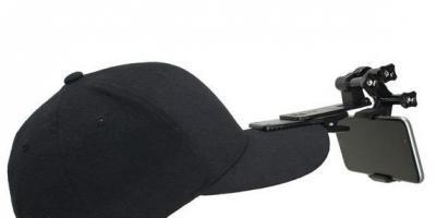 Action Mount Hat Clip Mount for Vlogging